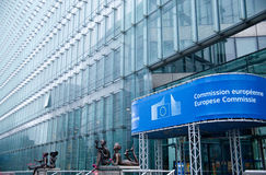 Commissione Europea fotografia stock