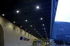 Commissione Europea a Bruxelles immagini stock libere da diritti
