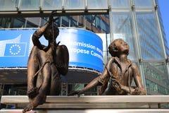 Commissione Europea, Bruxelles Fotografie Stock Libere da Diritti