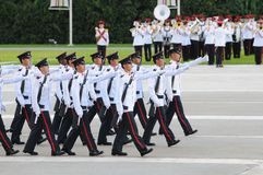 Commissioning parade Royalty Free Stock Photography