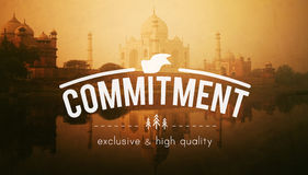 Commitment Deal Liability Trust Duty Concept Royalty Free Stock Photography