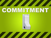 Commitment - human relation concept Royalty Free Stock Images