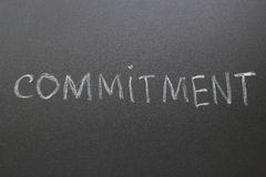 Commitment Royalty Free Stock Images