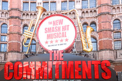 The Commitments Musical at the Palace Theatre in London Royalty Free Stock Photography