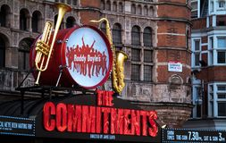 The Commitments at Palace Theatre Stock Photos