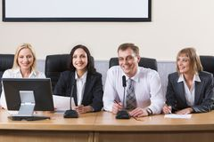 Committee Royalty Free Stock Photo