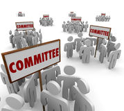 Committee People Working Together Teamwork Task Forces Stock Photos