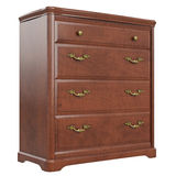 Commode classic gold handles Royalty Free Stock Photos