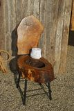 Commode en bois   Image stock