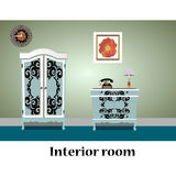 Commode illustration Royalty Free Stock Photos