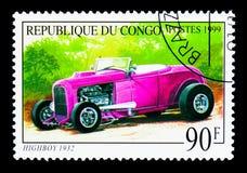 Commode 1932, vieux serie d'automobiles, vers 1999 Image libre de droits