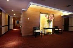 Commodious Corridor In Hotel Stock Photo