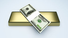 Commodities and Cash Royalty Free Stock Photos
