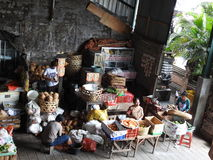 Commodities market in Bali Indonesia Stock Photography