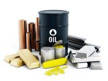 Commodities Stock Image