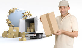 Commodity delivery Stock Photos