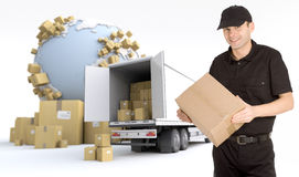 Commodity delivery Stock Photography