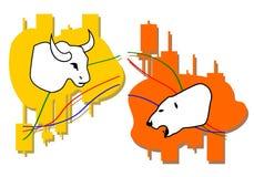 Commodity, Forex trading. Illustration Royalty Free Stock Photos