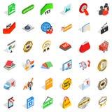 Commodity icons set, isometric style. Commodity icons set. Isometric set of 36 commodity vector icons for web isolated on white background Stock Photo