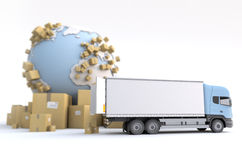Commodity transportation Royalty Free Stock Image