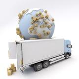 Commodity transportation Stock Photos