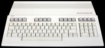 Commodore 128 computer Royalty Free Stock Photo