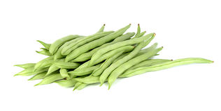Common bean isolated on white background Royalty Free Stock Photos