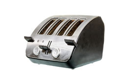 Common chrome toaster Stock Photo