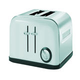 Common chrome toaster Royalty Free Stock Images