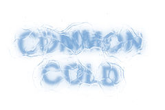Common cold (Text serie) Royalty Free Stock Photos