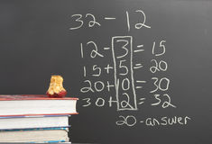 Common Core new math. Royalty Free Stock Images