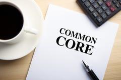 Common Core Stock Photos