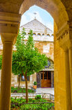 The common courtyard Royalty Free Stock Images
