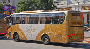 A Common Free Casino Bus in Macau Stock Images