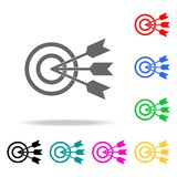 Common goal icon. Elements of teamwork multi colored icons. Premium quality graphic design icon. Simple icon for websites, web des. Ign, mobile app, info Royalty Free Stock Photo