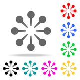 Common goals icon. Elements of teamwork multi colored icons. Premium quality graphic design icon. Simple icon for websites, web de. Sign, mobile app, info Stock Image
