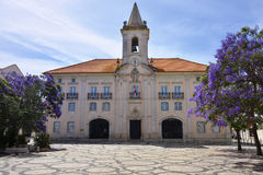 Common Hall in Aveiro, Portugal Royalty Free Stock Photography