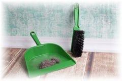 Common house dust Stock Photo