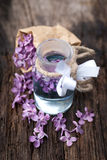 Common lilac perfume Royalty Free Stock Image