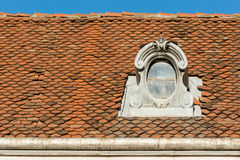Common Medieval House Roof Royalty Free Stock Image