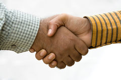 Common Mens Handshake Royalty Free Stock Photos
