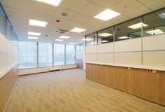 Common office building interior. Common generic office building interior Royalty Free Stock Photo