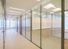 Common office building interior Royalty Free Stock Image