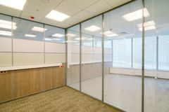 Common office building interior Stock Images