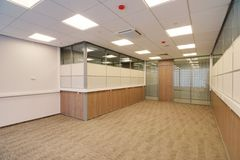 Common office building interior Royalty Free Stock Images