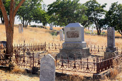 Common Rural Cemetery Royalty Free Stock Photography