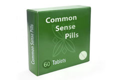 Common sense concept. Stock Images
