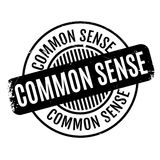 Common Sense rubber stamp Royalty Free Stock Photography