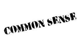Common Sense rubber stamp Stock Photos