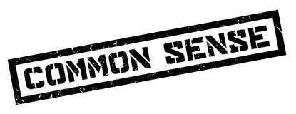 Common Sense rubber stamp Royalty Free Stock Image